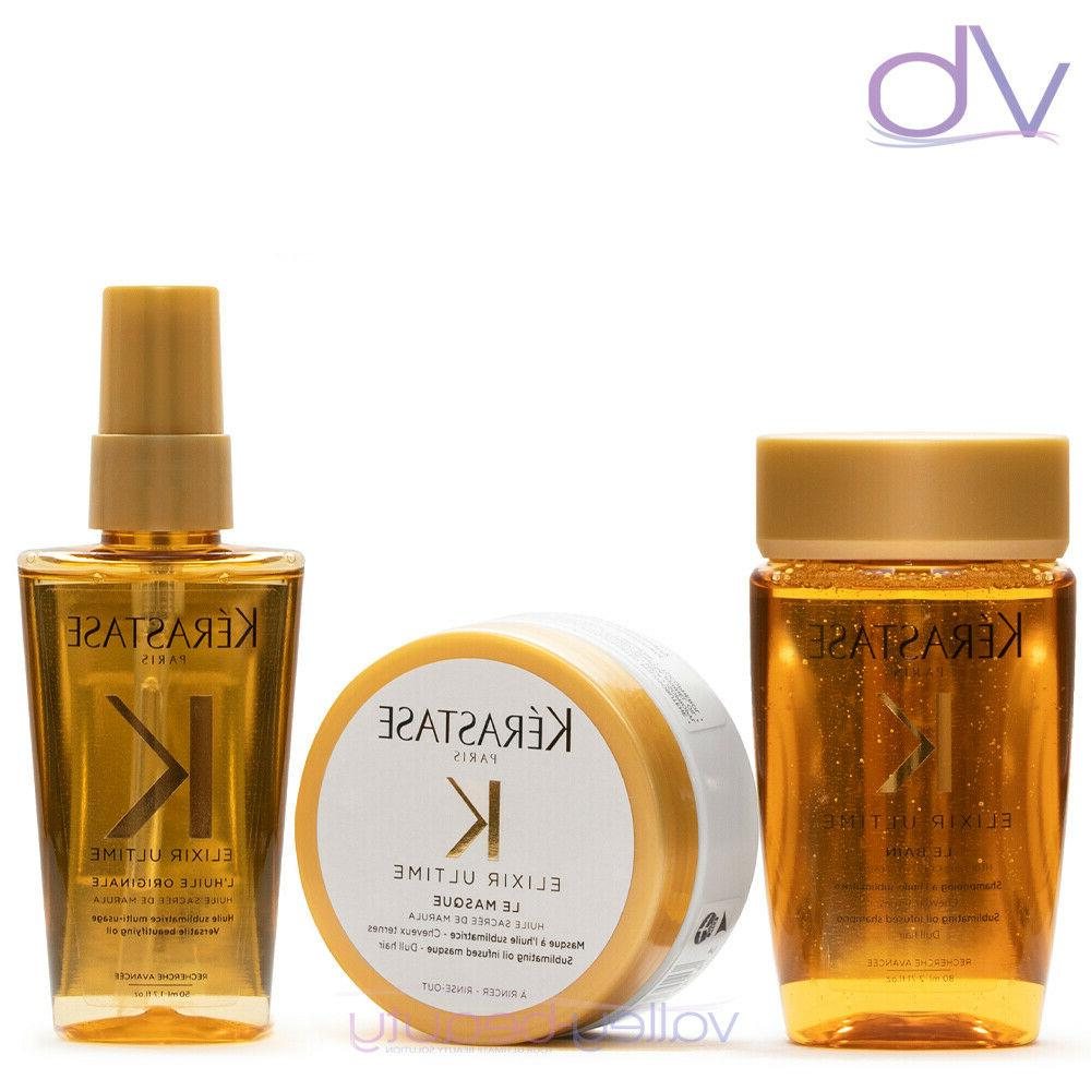 kerastase elixir ultime travel size shampoo