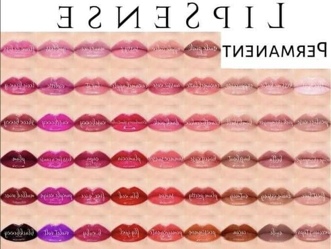 LIPSENSE MINI TRAVEL Lip Colors & SALE