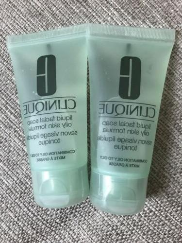 liquid facial soap oily skin formula travel