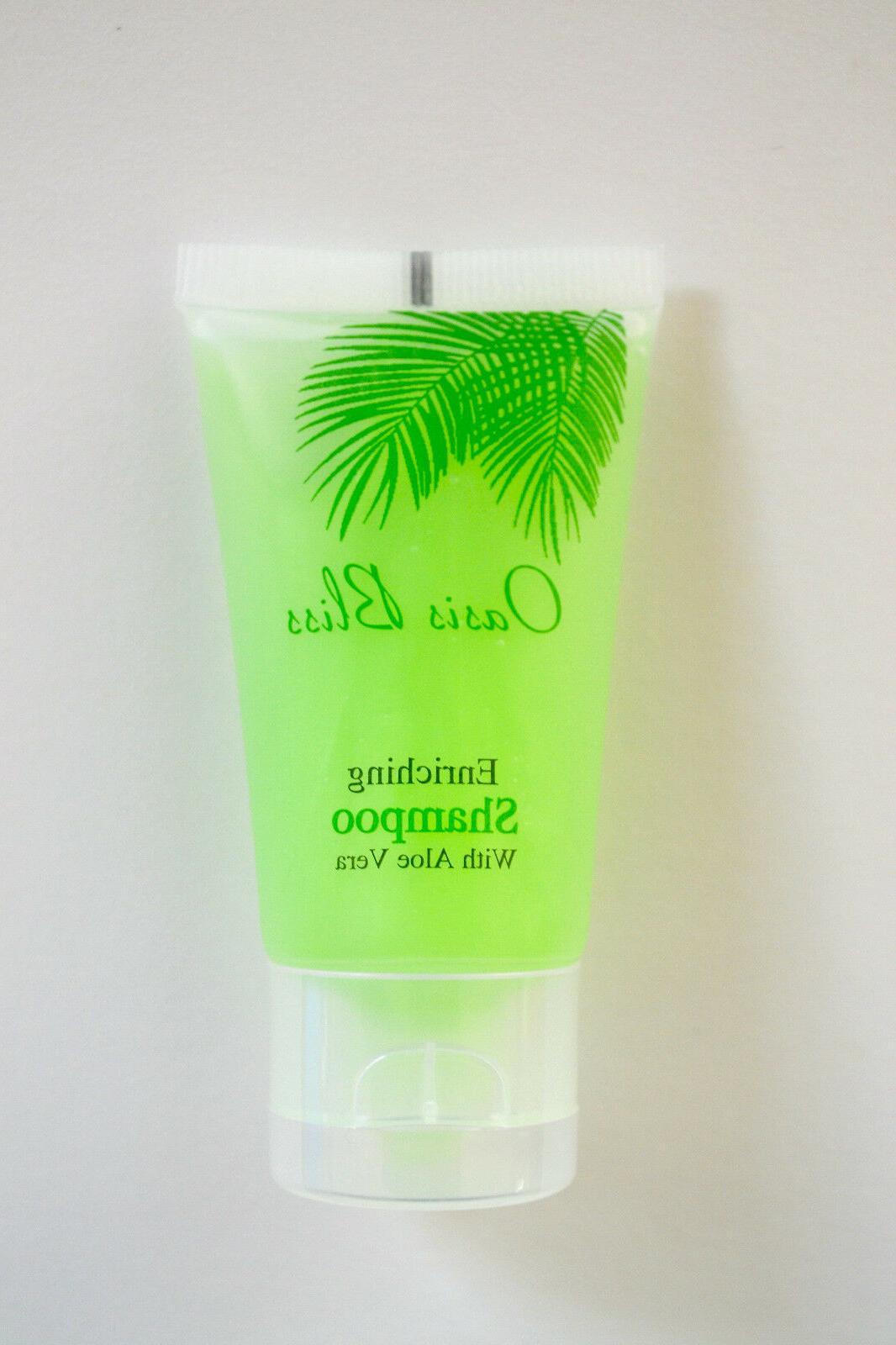 50 pcs Travel Size Mini Hotel Shampoo Tubes Bulk 30ml 1 oz