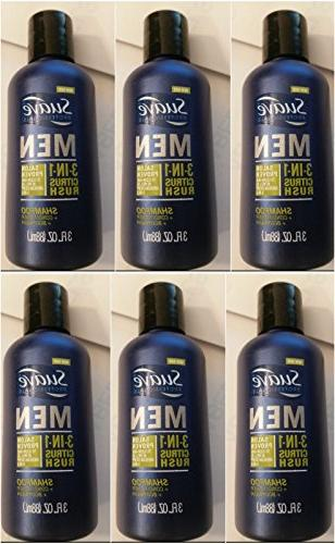 men 3 in 1 shampoo conditioner body