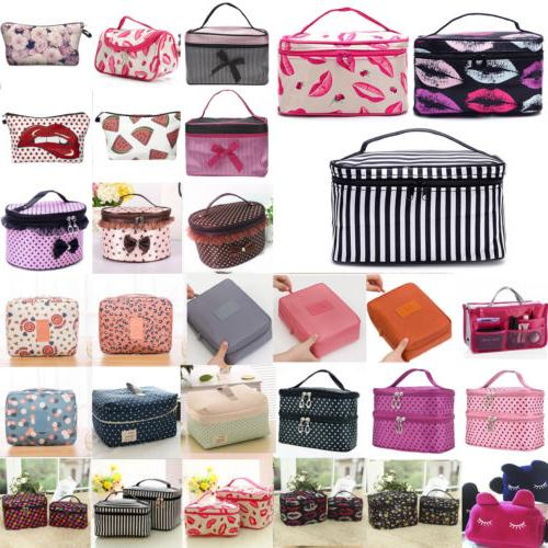 Multifunction Makeup Case Women Travel Cosmetic Bag Pouch To