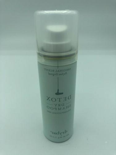 new detox dry shampoo original scent travel