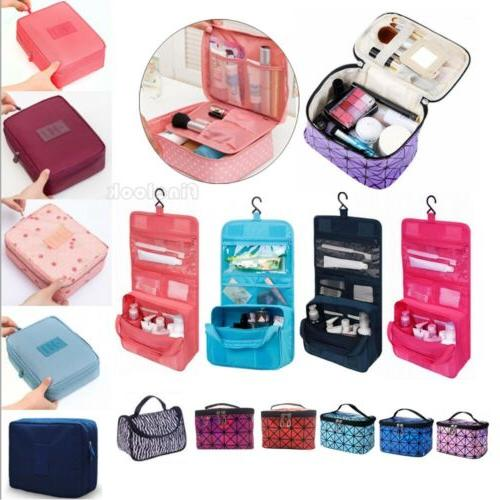 New Women Multifunction Travel Cosmetic Bag Makeup Case Pouc