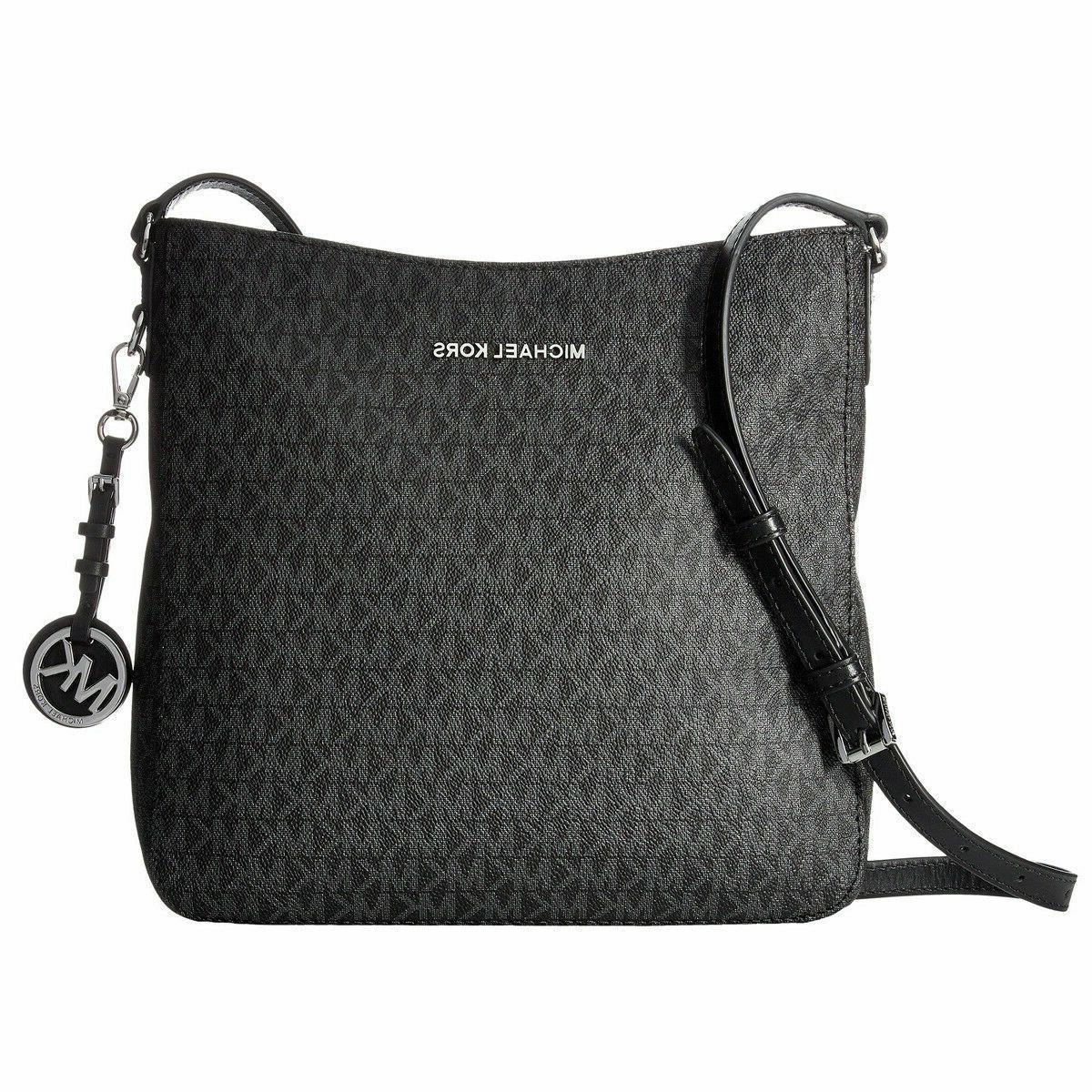 NEW Michael Kors Women's Jet Set Travel Messenger Bag - Blac