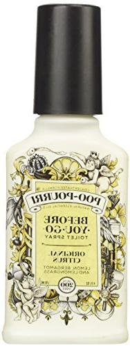 Poo-Pourri Odor Eliminator Original Scent 4 Oz