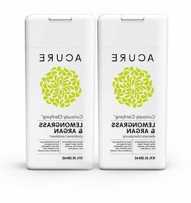Acure Organics Color Safe Clarifying Shampoo & Conditioner L
