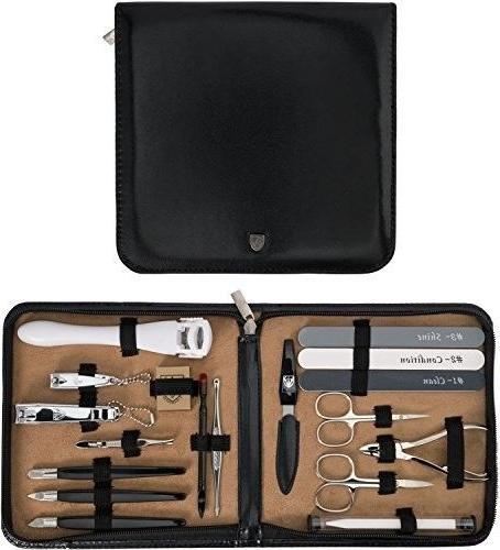 original manicure pedicure set kit 009