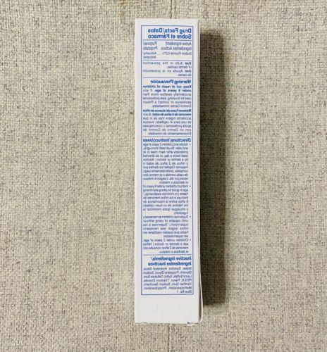 Amway Glister Toothpaste size