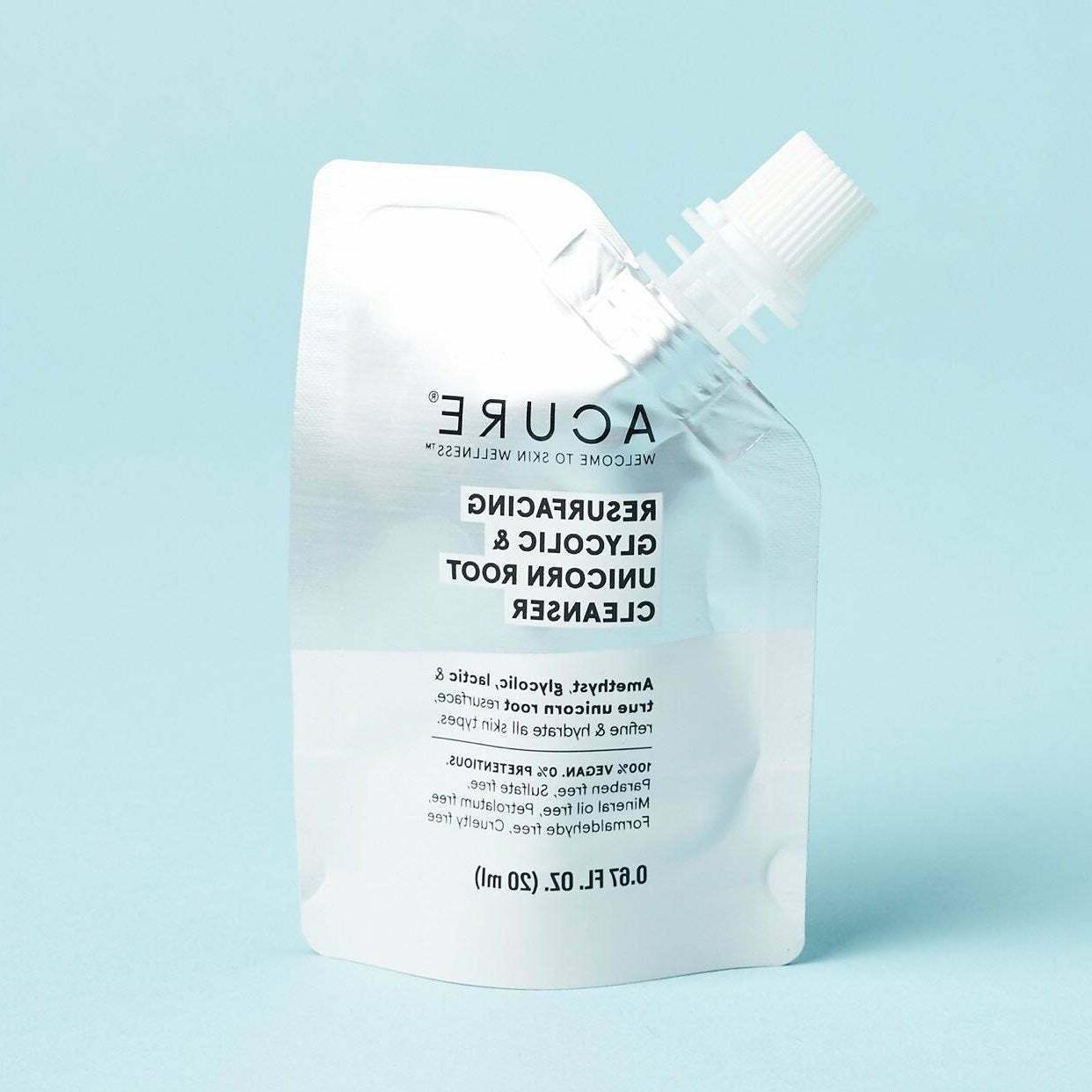 resurfacing glycolic and unicorn root cleanser 0
