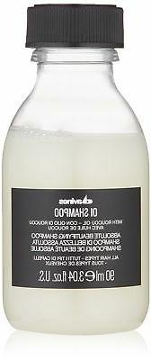 Davines Shampoo Travel Size, 3.04 fl.oz. with nourishing Rau