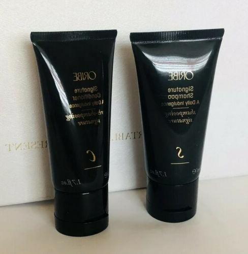 signature shampoo and conditioner 1 7 oz