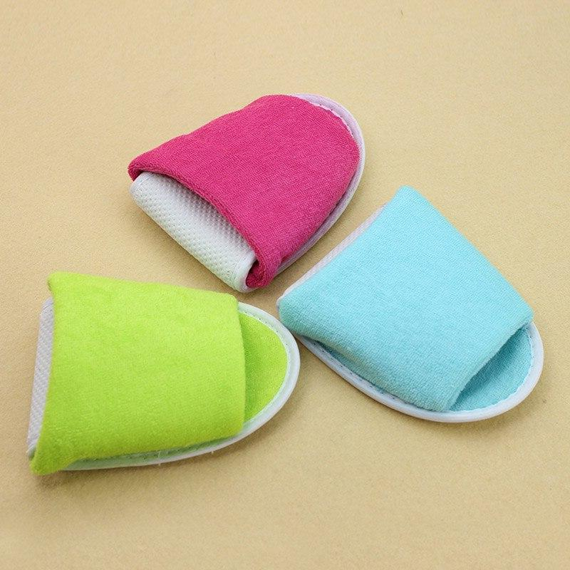 Slippers Men Women Hotel <font><b>Travel</b></font> Spa House Disposable Indoor Shoes