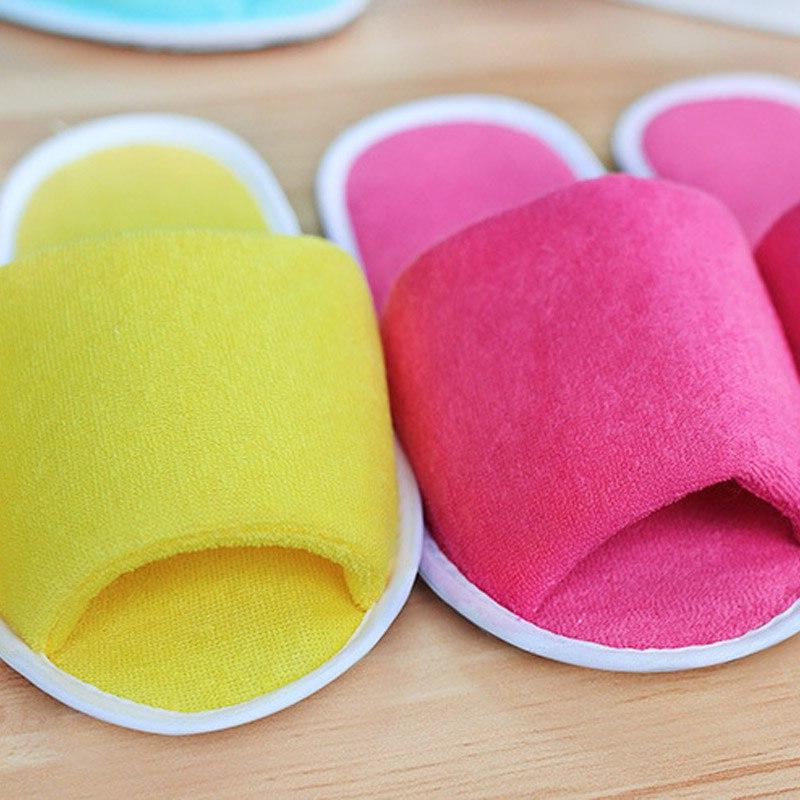 Slippers Men Women House Disposable Home Indoor Slippers Big <font><b>Size</b></font> Shoes