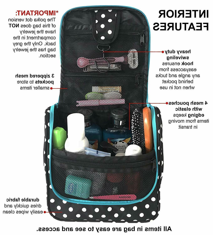 WAYFARER Hanging Bag: Pack-it-flat Travel Black