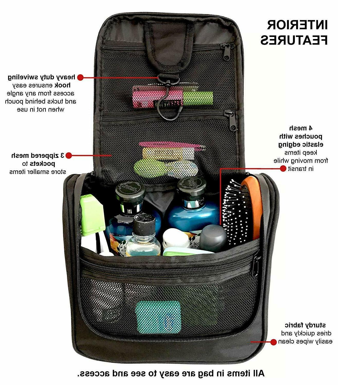 WAYFARER Bag: Pack-it-flat Travel Kit, Black