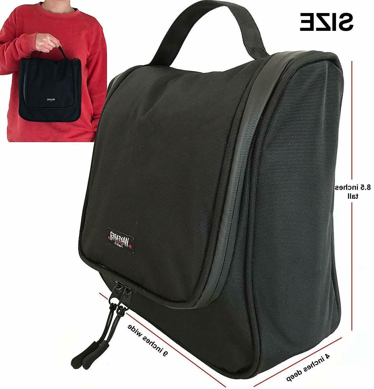 WAYFARER Toiletry Bag: Pack-it-flat Black