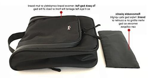 WAYFARER Hanging Bag: Kit, Black