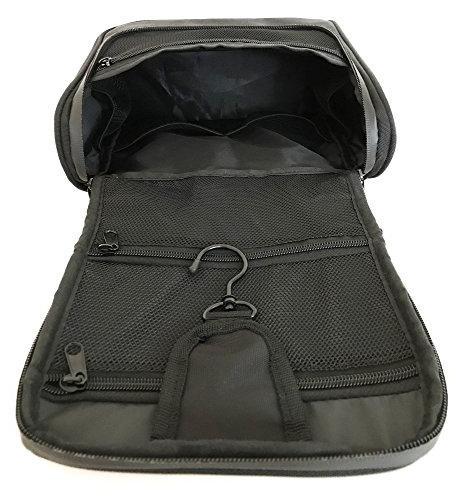 WAYFARER Hanging Toiletry Bag: Black