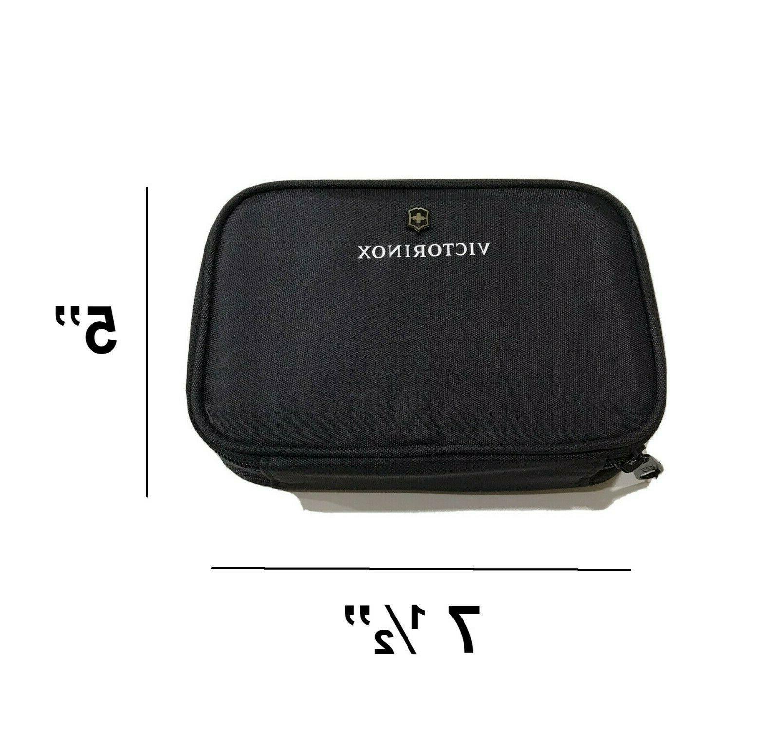 Victorinox Toiletry Bag Small Size Black Bathroom Shaving Pouch