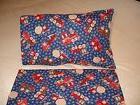 Trains & Trucks  Cotton Fabric Toddler/Travel Size Pillowcas