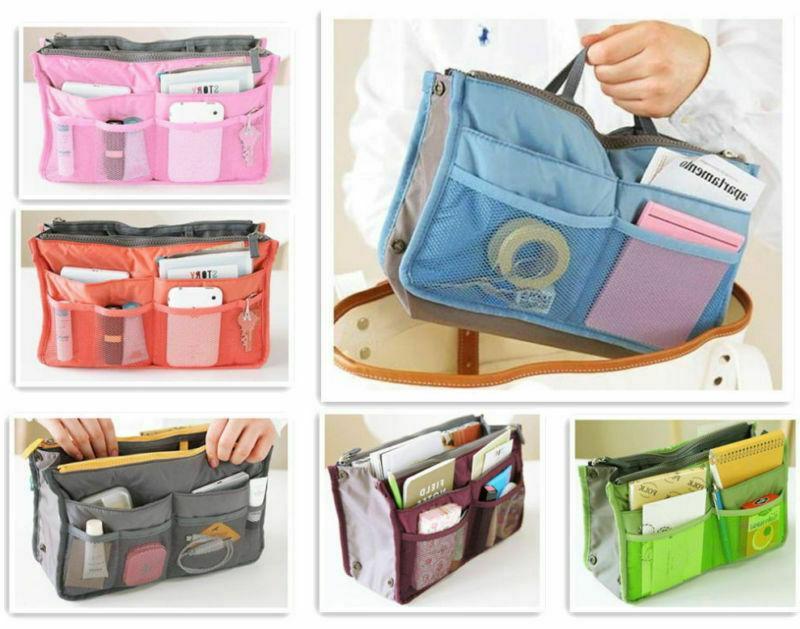 Travel Makeup Bag Case Zipper Handbag