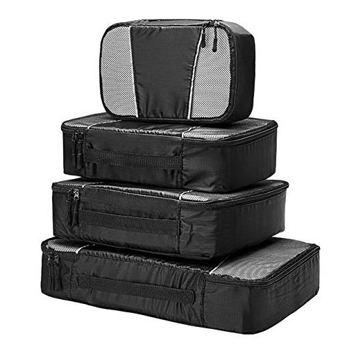 travel packing cubes 4 set lightweight travel