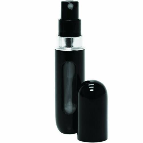 travel portable mini refillable perfume atomizer bottle