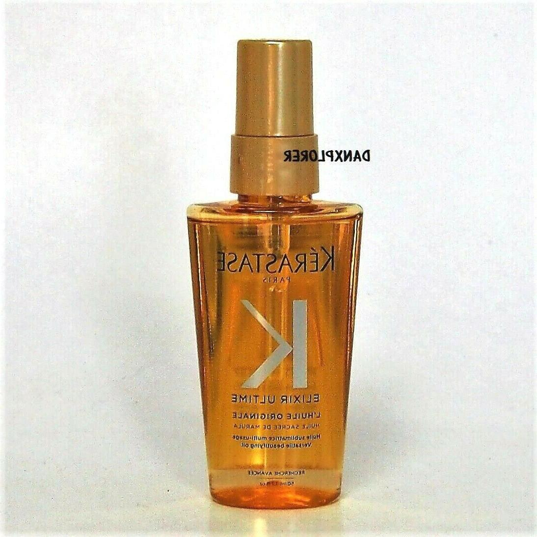 -TRAVEL KERASTASE ULTIME VERSATILE OIL 1.7oz 50ml