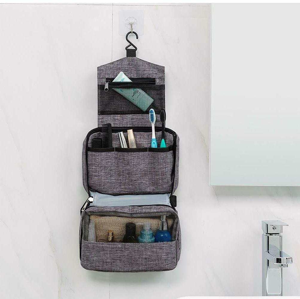 travel toiletry bag organizer waterproof shaving dopp