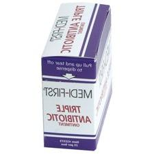 Triple Antibiotic Cream Ointment - 25 ct Box Individual Unit