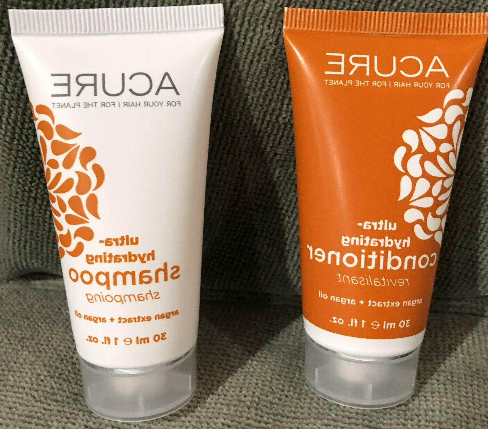 ultra hydrating shampoo and conditioner travel size