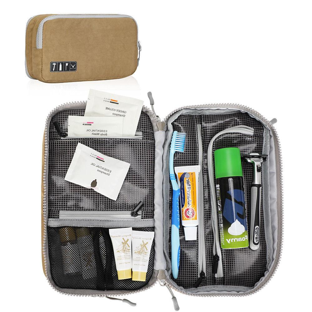 Waterproof Toiletry Organizer Bag Travel Shaving Dopp Kit Co
