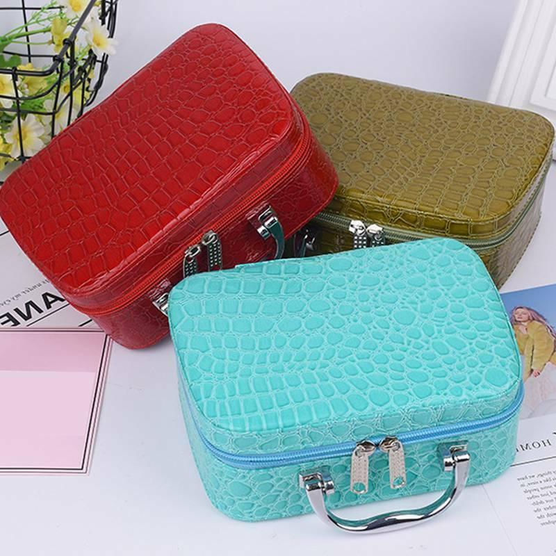 Women Travel Cosmetic Case Pouch Wash