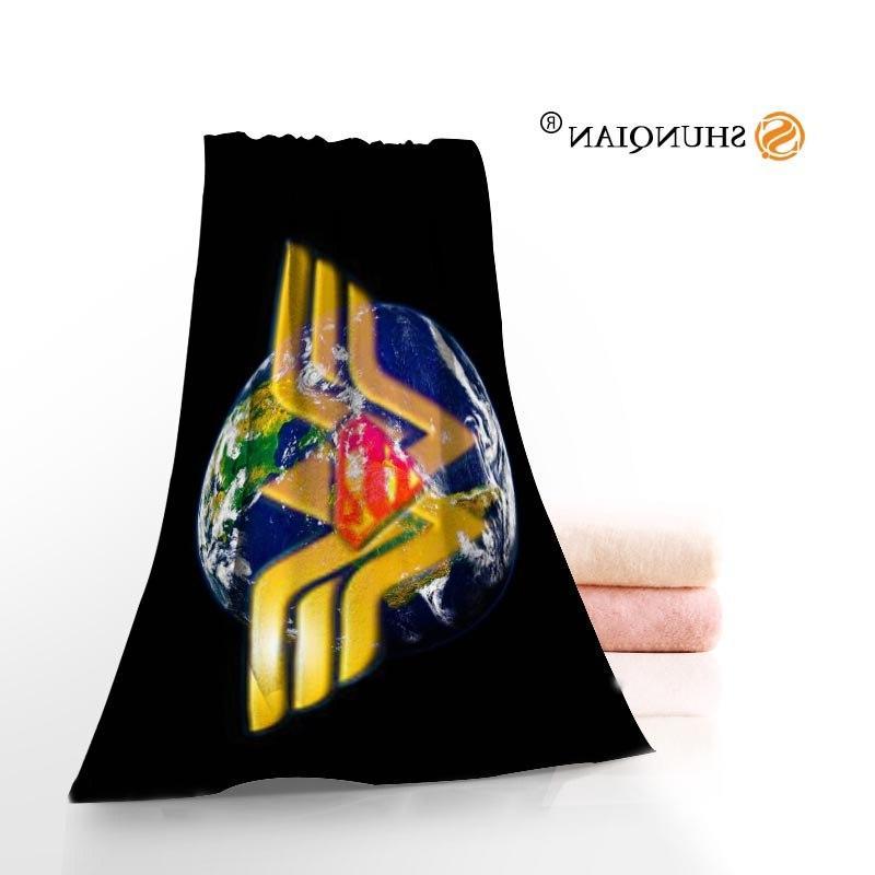 Wonder Woman Logo Towels Microfiber Towels Towel Custom <font><b>Size</b></font> 35X75cm A8.8