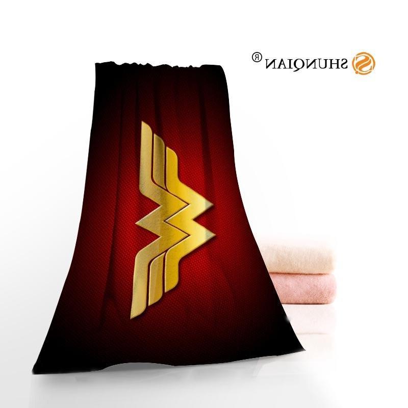 Wonder Woman Microfiber Towel Custom <font><b>Size</b></font> And A8.8