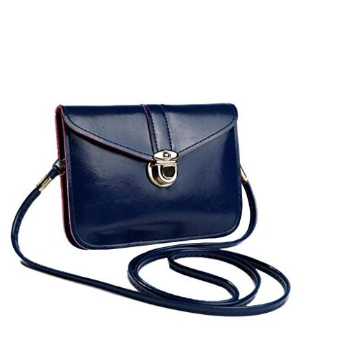 zero purse bag leather handbag