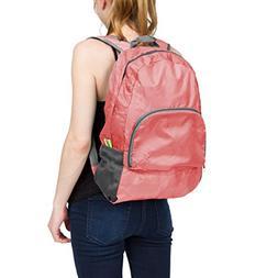 Leisureland Lightweight Foldable Backpack, Water Resistant T