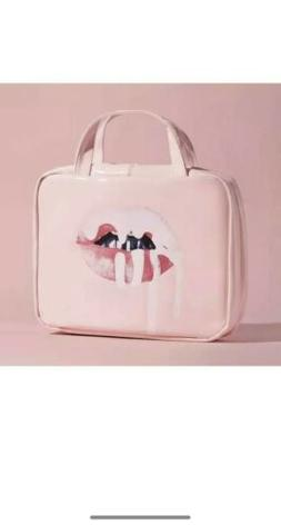 Kylie Skin Lips Travel Case Hanging Bag Authentic In Hand