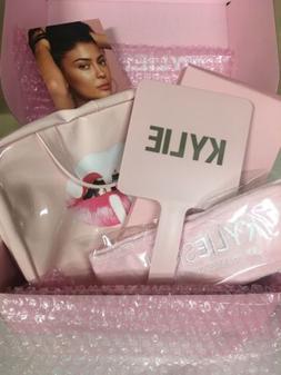 Kylie Skin Lips Travel Case Hanging Bag, Mirror, Headband Bu