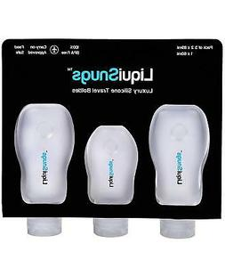 LiquiSnugs - 100% Guaranteed Leak Proof - Silicone Travel Bo