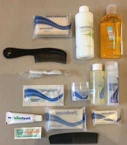 LOT of 100 TRAVEL SIZE TOILETRIES Shampoo, Soap, Deodorant T