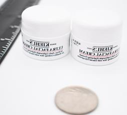 Lot of 2 KIEHL'S Ultra Facial Cream mini Size 0.25 oz/7 mL/