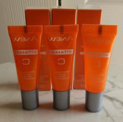 3 Travel Size Tubes Avon Anew Vitamin C Brightening Serum -