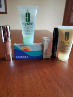Lot of 6 CLINIQUE Facial Skin Care Products Travel Size - Br