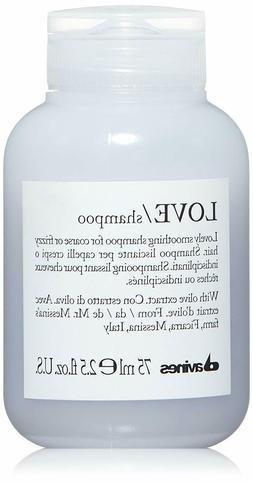 Davines Love Smoothing Shampoo  75 ML / 2.5 OZ Travel Size