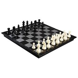 Magnetic Chess Board Game Travel Size Folding Chessboard Por