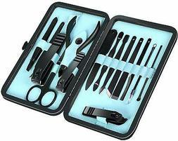 Manicure Kit 15 Piece Set Pedicure Nail Care Cutter Cuticle