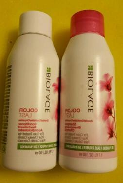 Matrix Biolage - COLOR LAST Shampoo & Conditioner - Travel S