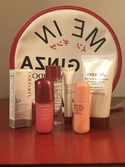 Shiseido Meet Me In Ginza Travel Size Skincare Set With Bag